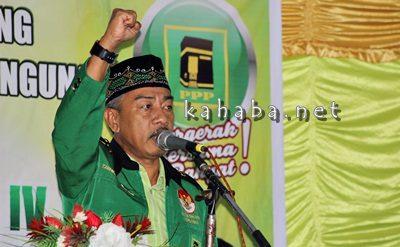 Plh. Ketua DPC PPP Kota Bima Taufik HA. Karim. Foto: Bin