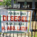 Polindes di Kelurahan Rontu Disegel Pemilik Tanah
