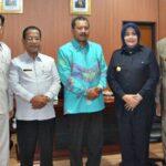 Bahas Isu Strategis, Walikota Bima Silahturahim ke Kantor Bupati Bima