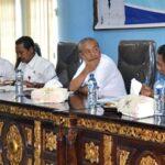 Wakil Walikota Bima Pimpin Rapat Evaluasi Capaian PAD SKPD
