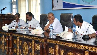 Rapat Evaluasi Capaian PAD SKPD. Foto: Hum