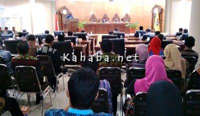 Rapat Paripurna DPRD Kota Bima. Foto: Bin