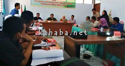 Rapat Tindak Lanjut Pokja Desa Tertinggal. Foto: Ady