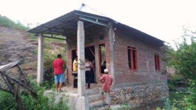 Rumah Tempat Husen dimutilasi. Foto: Istimewa