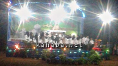 Suasana MTQ di Desa Raba Kecamatan Wawo. Foto: Firman
