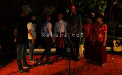 Teater yang ditampilkan komunitas Tambulate. Foto: Bin