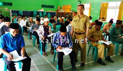 Tes kompetensi penyuluh agama islam di MAN 2 Kota Bima. Foto: Ady