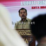 Walikota Bima Paparkan Rencana Pembangunan Daerah Dihadapan Menko Maritim
