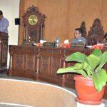 Walikota Bima Sampaikan Penjelasan Atas Raperda APBD 2017