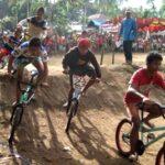 Kelurahan Pane Gelar Lomba BMX Cross