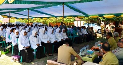 200 peserta tes Calon Kepala Sekolah. Foto: Hum