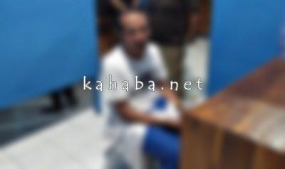 AB saat diamankan di BBNK Bima. Foto: Deno