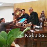 DPRD Kota Bima Gelar Paripurna Sampaikan Empat Laporan