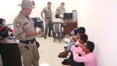 7 Pelajar saat diamankan. Foto: Ady
