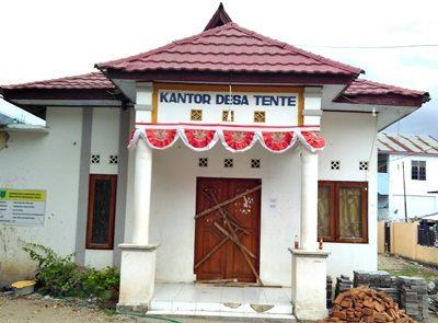 Kantor Desa Tente Disegel. Foto: Bin