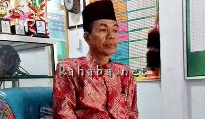 Kepala SDN 14 Kota Bima H. Syarifuddin Karim. Foto: Bin