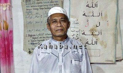Ketua LPTQ Kecamatan Wawo H. Anwar M. Tayeb. Foto: Firman