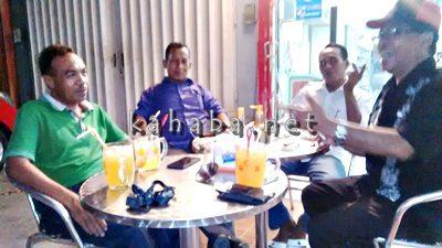 Ketua Partai Hanura, PBB, PKB dan PKP Indonesia duduk bersama bahas rencana bangun koalisi. Foto: Bin