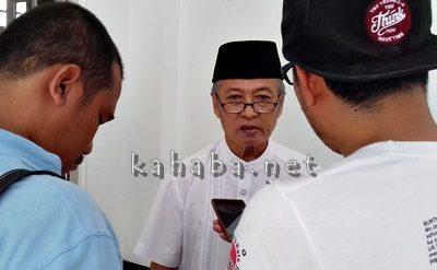 Ketua Tim Pansel Sekda Kota Bima, H. Maryono Nasiman. Foto: Eric