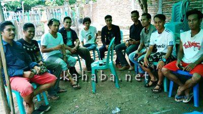 Pertemuan Sekdes di lokasi Kelompok Usaha Lele Makbul. Foto: Ady