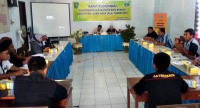 Rakor Kabupaten Layak Anak. Foto: Hum