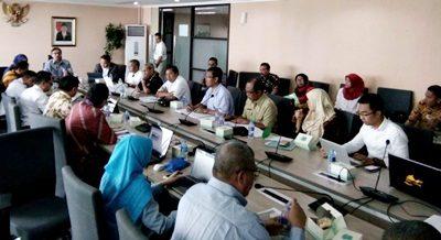 Rakor dengan Kementerian Kemaritiman bahas pengembangan Pelabuhan Bima. Foto: Hum