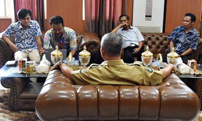 Rombongan Mitratel saat tatap muka dengan Wakil Walikota Bima. Foto: Hum