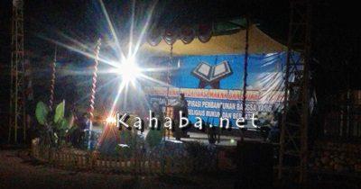 Suasana MTQ di Desa Kambilo. Foto: Firman