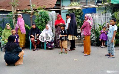 Suasana di rumah korban Naisya di Kelurahan Lewirato. Foto: Bin