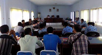 Suasana hearing DPRD Kota Bima dan warga Mande. Foto: Dok. DPRD Kota Bima