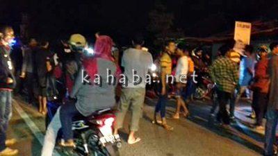 Suasana jalan usai kejadian penganiayaan Brimob di Oi Mbo. Foto: Deno