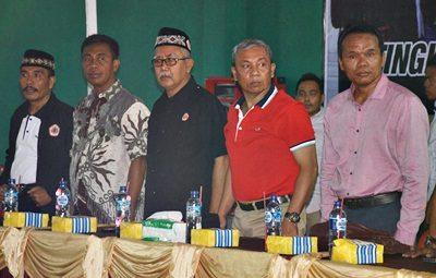 Wakil Walikota Bima bersama pengurus IPSI. Foto: Hum