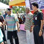 Wakil Walikota Bima Buka Operasi Pasar Murah