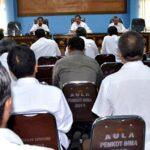 Bahas Isu Demo 4 November, Walikota Bima Imbau Warga tidak Terprovokasi