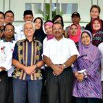 Walikota Bima Terima Kunjungan Tim IFCP