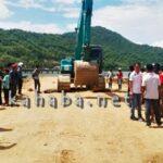 Warga Dara Usir Pekerja Timbunan Laut Amahami