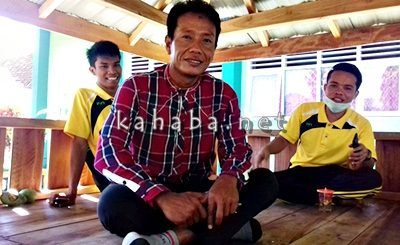 pelatih MAN 1 Kota Bima Jauharial Ma'ruf. Foto: Eric