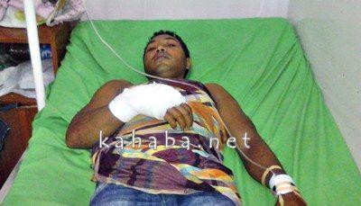 Abdul Halik, Warga Desa Oi Katupa yang terbaring di RS Muhammadiyah Bima. Foto: Deno