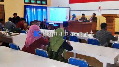 Bimtek layanan e-Monev KUA di Kemenag Kota Bima. Foto: Ady