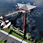 Ini Penjelasan Dinas PU Tentang Pembangunan Masjid Terapung Amahami