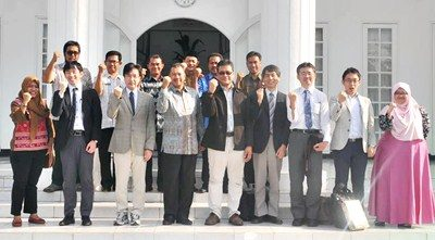Foto bersama Walikota Bima bersama Tim JICA. Foto: Hum