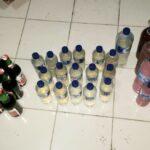Razia Cipta Kondisi, Polisi Amankan Puluhan Botol Miras