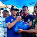 PAN Bagi 4 Ribu Paket Sembako untuk Korban Banjir Kota Bima