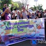 Implementasi Mata Kuliah, STIE Gelar Kampanye Hari Anti Korupsi