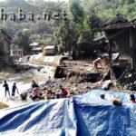 Di Kendo, 6 Rumah Dibawa Banjir