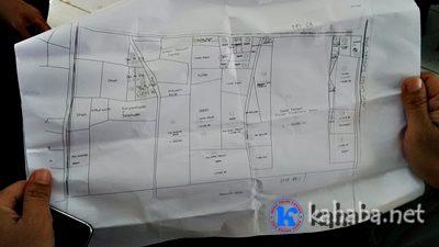 Peta lokasi tanah milik warga di Amahami. Foto: Bin