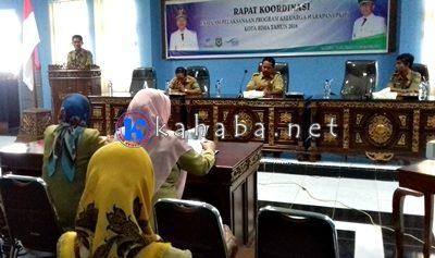 Rapat Evaluasi PKH. Foto: Eric