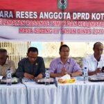 Dewan Dapil III Mulai Reses di Kelurahan Dodu