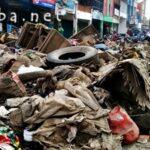 Sampah Sisa Banjir Masih Menumpuk, TNI dan Polri Kerja Ekstra