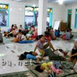 Sebagian Korban Banjir Masih Bertahan di Pengungsian